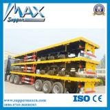 40FT 콘테이너 반 평상형 트레일러 트레일러, 높은 침대 트럭 트레일러