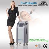 Diamant d'Oxypeeling et machine de salon de beauté de l'oxygène (CE, ISO13485)