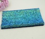 La venta los 40*24cm de la fábrica de China que arropan Caliente-Fija directo la hoja cristalina del Rhinestone de la resina