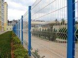 Высокое качество аттестовало покрынную PVC Curvy сваренную стальную загородку ячеистой сети