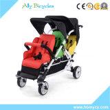 3 Kleinkinderpram-Baby-Spaziergänger-Leichtgewichtler 3 Seater Spaziergänger