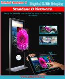Полная индикация LCD Signage цифров экрана касания сети HD беспроволочная WiFi 3G
