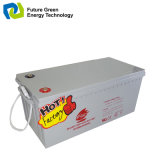 batería de almacenaje del gel de la energía solar de 12V 200ah para el panel