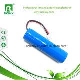 세륨 RoHS 램프를 위한 18650의 Li 이온 전지 2000mAh