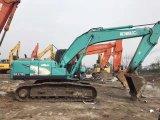 Excavador hidráulico usado original de Japón Kobelco Sk200-8 para la venta (2009)