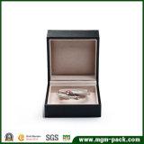 Venta caliente plástica personalizada de joyería de terciopelo