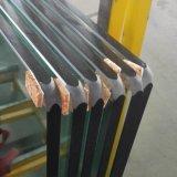 12mm Borrar borde pulido vidrio templado para el tablero trasero