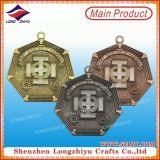 Медали вероисповедания металла меди Antique поставкы фабрики для подарка