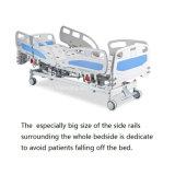 Base HK-N003 elétrica de função tripla de luxe (base médica, base de hospital, base paciente)