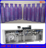Máquina de rellenar líquida de la botella plástica automática