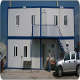 Camera prefabbricata chiara della struttura d'acciaio per il dormitorio degli operai