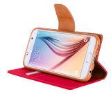 Samsung A5 2017年のA520ケースの水星のGoosperyのキャンバス日記の札入れのための卸し売りGoosperyのケースのキャンバス