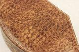 特別なデザインヘビパターンPUの革宝石箱