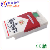 Коробка сигареты золота маштаба ювелирных изделий цифров электронная миниая карманная