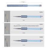 Инструмент Manicure пер щетки красотки ногтя голубой перлы акриловый (B051)
