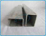 Pipes rectangulaires d'acier inoxydable pour la grille