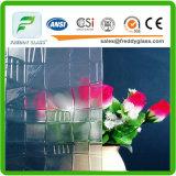 2.5-12mm freies gekopiert/Muster/gerolltes Glas in der Qualität mit Begonie-Entwurf