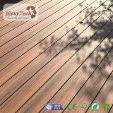 2017 Decking exterior plástico de madeira da co-extrusão do composto WPC