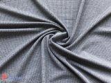 衣服のためのカチオンポリエステル小切手のジャカードスパンデックスファブリック