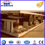 3 BPW Axles Air Suspension Flatbed Semi Truck Trailer