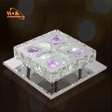 Teto moderno do candelabro de cristal de cristal da sala de visitas com Dimmable