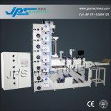 PVC/PE/OPP/Pet/PP/BOPP/BOPEのためのJps480-6c-Bのプラスチックフィルムロール印刷機械装置