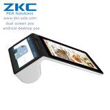 Terminal androïde de position de l'écran NFC de Duable établi dans l'imprimante