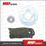 Kit della catena del motociclo della parte del motociclo del pezzo di ricambio del motociclo di rendimento elevato per Cg125