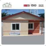 Billig oder helles Stahlkonstruktion-vorfabriziertes Landhaus-Luxuxhaus