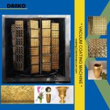 Máquina de revestimento dourada do vácuo da película de cor da telha cerâmica