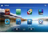 Auto GPS mit BT iPod RDS Radiolink des Spiegel-3G