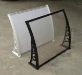 Toldo de instalación fácil manual popular del marco de la aleación de aluminio