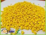 Polyethlene gelbe Plastikkörnchen-Farbe Masterbatch für alle Plastikprodukte
