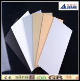precio compuesto de aluminio del panel de los materiales de la construcción de edificios de la capa de 4m m PVDF
