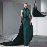 Neues kommendes moderne Art-Sleeveless Abschlussball-Kleid mit dem Cocktail-Schleppen