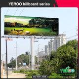 Publicidad de la cartelera/de la estructura al aire libre de Unipole de la iluminación de Hording