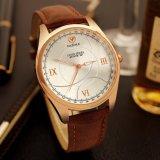 Kompakte Geschäftsmann-Uhr-Fabrik-Preis-Quarz-Uhr des Vorwahlknopf-H367 für Männer