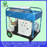 발전소 관 정리 고압 세탁기술자 기계
