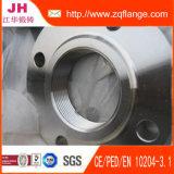 Enxerto de JIS B2220 16k Ss400 na flange