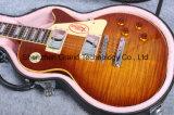 1959 guitarra elétricas do estilo do Lp da flama do tigre R9 (GLP-109)