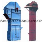 Th cadena de gran capacidad elevador de cangilones de grava