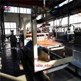 Делающ PVC машины украшая линию производственную линию штрангя-прессовани штрангпресса завода доски делая PVC машины имитировал мраморный панель листа/стены/доску нутряного украшения