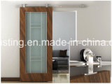 Деревянное оборудование раздвижной двери сползая оборудование двери амбара (LS-SDS-521)