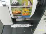 RTQ-320 Adhesivo etiqueta en blanco de papel Rotary Die cortador con corte longitudinal