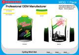 Chaleco de ciclo del viento de la venta del nuevo producto de Protact del desgaste colorido cómodo caliente de la carrocería
