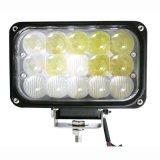 """高品質45W 6 """" 4D LEDの運転作業ライト"""
