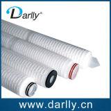 Elementos filtrantes multi plisados membrana de los PP de la capa