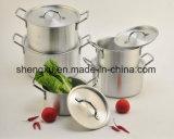Il Cookware economizzatore d'energia del POT del POT di alluminio rivestito di ceramica antiaderante della salsa imposta Sx-A006