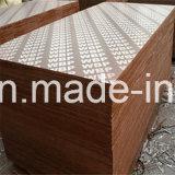 La película de la madera contrachapada de la construcción de la base del abedul/del álamo hizo frente a la madera contrachapada para el concreto (HBP002)