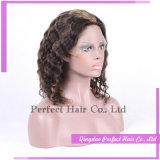 Parrucca piena del merletto dei capelli umani di 100%